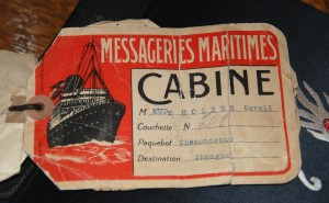 Bubbie's boat ticket may 1939