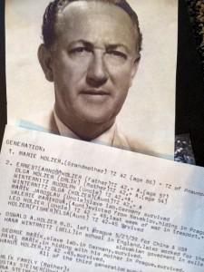 "Valdik's List  with Oswald ''Valdik"" Holzer photo"